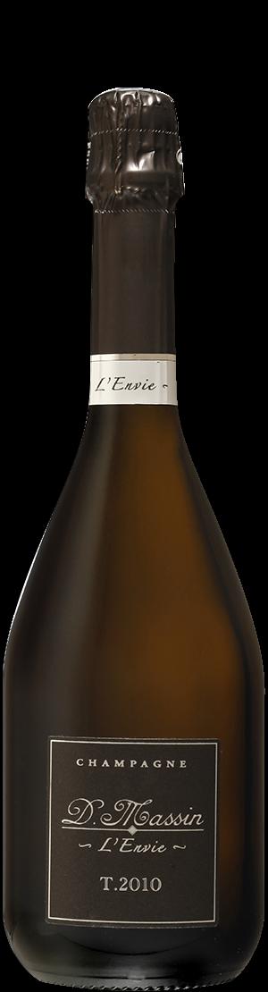 Bouteille l'envie Champagne Dominique Massin