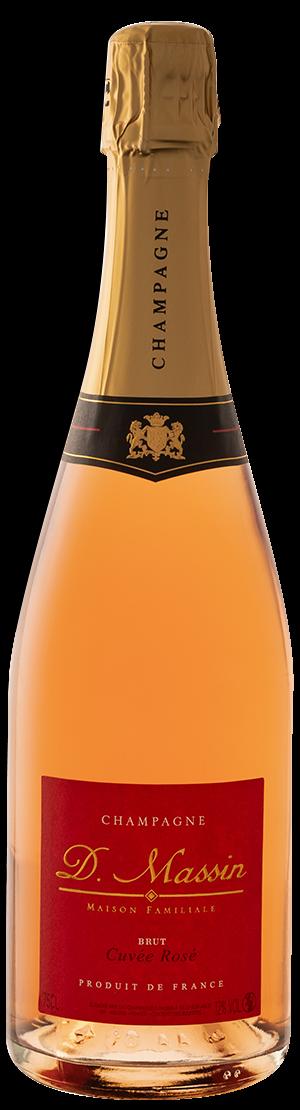 Bouteille Rosé Champagne Dominique Massin