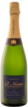 Bouteille Speciale Champagne Dominique Massin